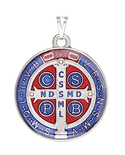 Intercesión San Benito Medalla de Color