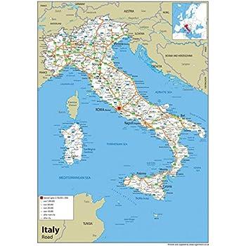 Italia Cartina Autostradale.Superficie Torneo Biancheria Cartina Autostradale Italia Amazon Agingtheafricanlion Org