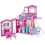 Mattel R4186-0 - Barbie Glam Haus, zusammenklappbar, mit Zubehör