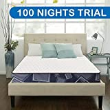 Comforto 8 Inch Orthopaedic 3-Layered Memory Foam Queen Size Mattress