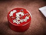 irugh Fleur de Cerise de Feuille d'Or de Laque du boîte Bijoux Bijoux boîte Bijoux avec Miroir Japonais Anniversaire de Mariage Cadeaux