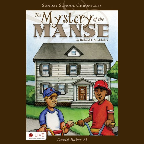 The Mystery of the Manse audiobook cover art