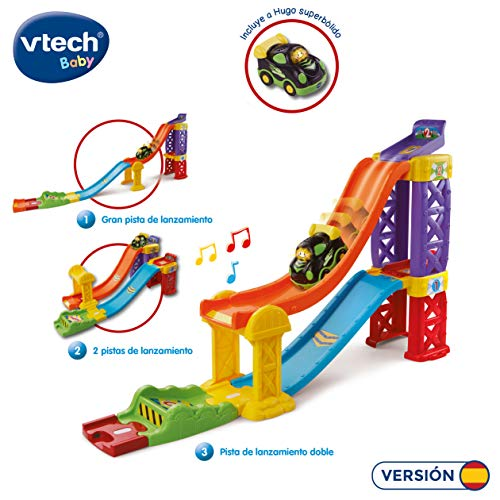 VTech-80-164722 Multipista de Lanzamiento, 30.5 x 21.6 x 11.7 (3480-164722)