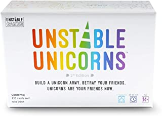 Unstable Unicorns Base Game,Basic,Black