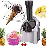 Jdyddsk 2021 nueva máquina para hacer helados mejorada, máquina para hacer helados de frutas caseras, hacer deliciosos sorbetes de helado para postres saludables y máquina para hacer yogurt helado