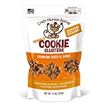 Crazy Monkey Baking   Granola Cookie Clusters   18 Grams Whole Grain   All Natural Ingredients   7.5 Ounce Resealable Bag   Pumpkin Seed and Spice