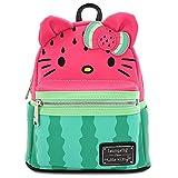 Hello Kitty Loungefly - Wassermelone Frauen Mini-Rucksack Multicolor Kunstleder Fan-Merch, Loungefly