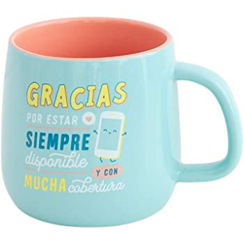 Mr. Wonderful Taza, Multicolor, único: Amazon.es: Hogar