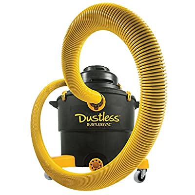 Dustless Technologies D1603 Dustless Wet Dry Vacuum, 16 gal, Blacks