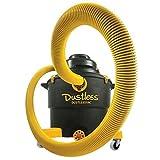 Dustless Technologies D1603 Dustless Wet Dry Vacuum, 16 gal, Blacks