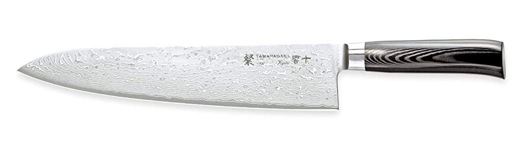 Chef Knife 270mm with Wooden Sheath -Tamahagane Kyoto