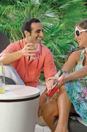 51 AJes7nQL - Keter Cool Bar - Mesa nevera para exterior, Blanca / marrón, 50x41x50 cm