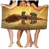 shenhaimojing Toallas De Baño Elefantes De Tailandia Sábanas De Baño Divertido 100% Poliéster Piscina Toalla Grande Cubierta 80X130Cm