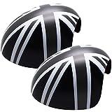YaaGoo - Cubierta para espejo retrovisor exterior, color gris