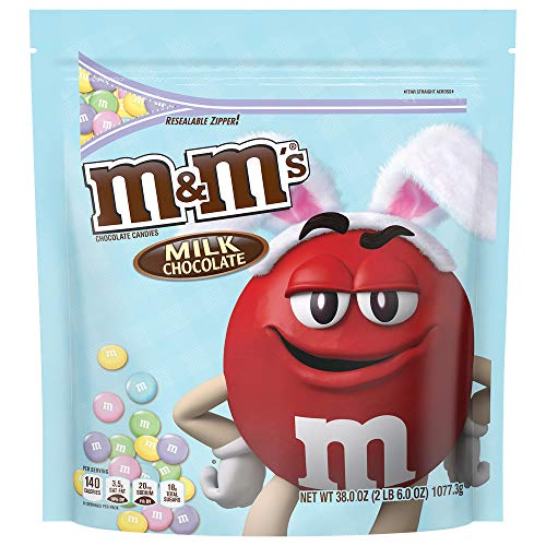 M&M'S Easter Milk Chocolate Candy Party Size 38-Ounce Bag