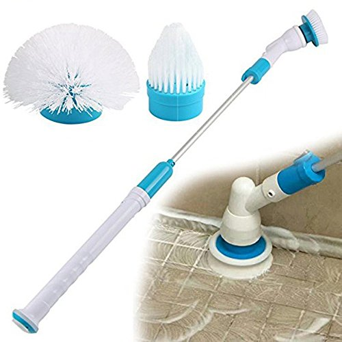 Farway multifonctions électrique brosses chargement sans fil électrique Long manche Brosse de nettoyage outils de ménage
