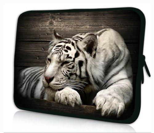 """Funda blanda de neopreno para portátiles y tablets 15""""- 15,6"""".Laptop bag 15-15,6' #Sleeping tiger#"""
