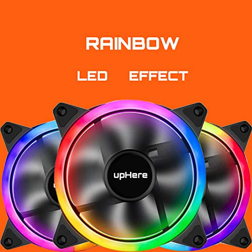 Uphere 120mm Computer Case Fan Rainbow L Buy Online In Dominica At Desertcart