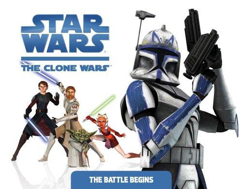 Download The Battle Begins (Star Wars: The Clone Wars) 0448449919
