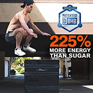 Keto Energy Shot - Exogenous Ketones Energy Drink- 12-Pack with D-BHB, Natural Caffeine, and Nootropic Blend to Boost Energy - Cherry Limeade by Real Ketones