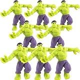 Hedstrom Avengers Hulk Super Realz Stretch Toy, 8 Pack (51-5053-8P)