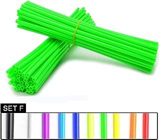 green bmx spokes