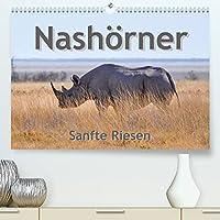 Nashoerner - Sanfte Riesen (Premium, hochwertiger DIN A2 Wandkalender 2022, Kunstdruck in Hochglanz): Brilliante Fotos dieser faszinierenden und ruhigen Wildtiere (Geburtstagskalender, 14 Seiten )