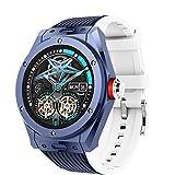 Nuevo MV58 MV58 Multifuncional Sports Watch Smart Bluetooth Call Calorie Sleep Podómetro Monitoreo Música Local Reloj Inteligente para Android iOS,B