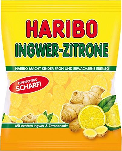 Haribo Ingwer Zitrone, 9er Pack (9 x 175 g)