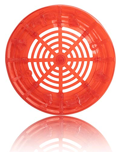 AMO Shisha Bowlcase (Rot) – Extra langlebige und universell einsetzbare Shisha Bowl Schutzhülle - überall sicher und risikofrei Deine Shisha abstellen - musthave Shisha Zubehör