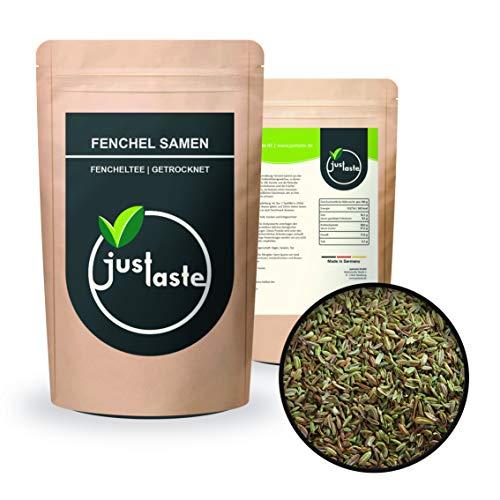 500 g Fenchel ganz | Fenchelsamen | Fenchel Samen | Aromatisch | Fencheltee | Tee Gewürz | justaste