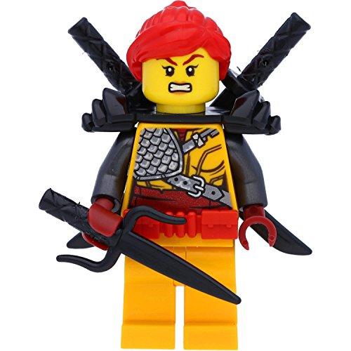 LEGO Ninjago Minifigur: Skylor mit Schwertern (Staffel 9 Hunted / Im Land der Drachen)