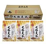 [Amazon限定ブランド] はくばく SMILEGRAINS 丸粒麦茶 30袋 ×3個 リーフ
