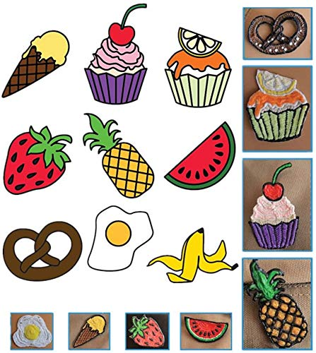 Mavis Laven 3D Drawing Templates, 20pcs 3D Pen Printing Paper Painting Graffiti Template 40 Cartoon Patterns for Kids DIY