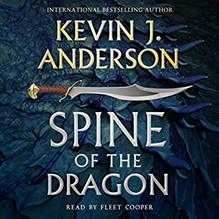 Spine of the Dragon audiobook cover art