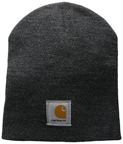 Carhartt Men's Acrylic Knit Hat, Coal Heather, One Size