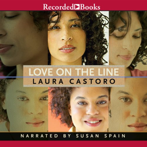 Love on the Line audiobook cover art