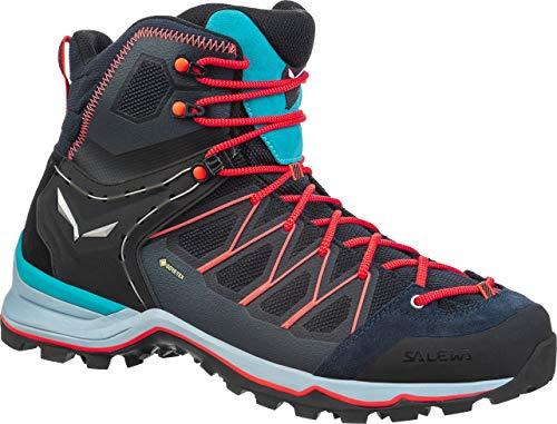 Salewa Damen WS Mountain Trainer Lite Mid Gore-TEX Trekking-& Wanderstiefel, Blau (Premium Navy/Blue Fog 3989), 42 EU