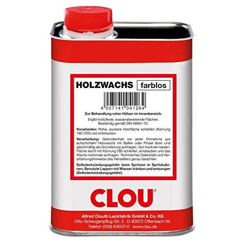 CLOU Holzwachs farblos 1 Liter