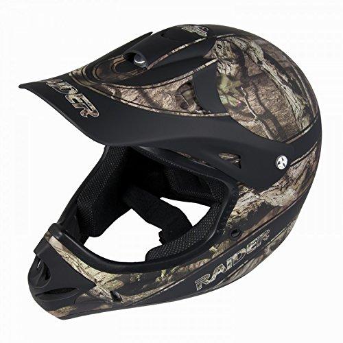 Raider Youth Ambush MX Helmet (Realtree Xtra, Large)