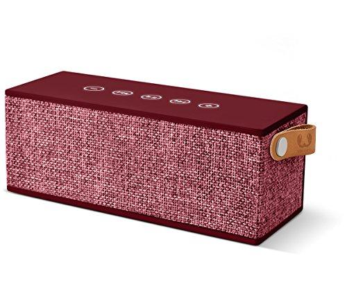 Fresh 'n Rebel ROCKBOX BRICK Fabriq Edition Ruby | Kabelloser Bluetooth Lautsprecher