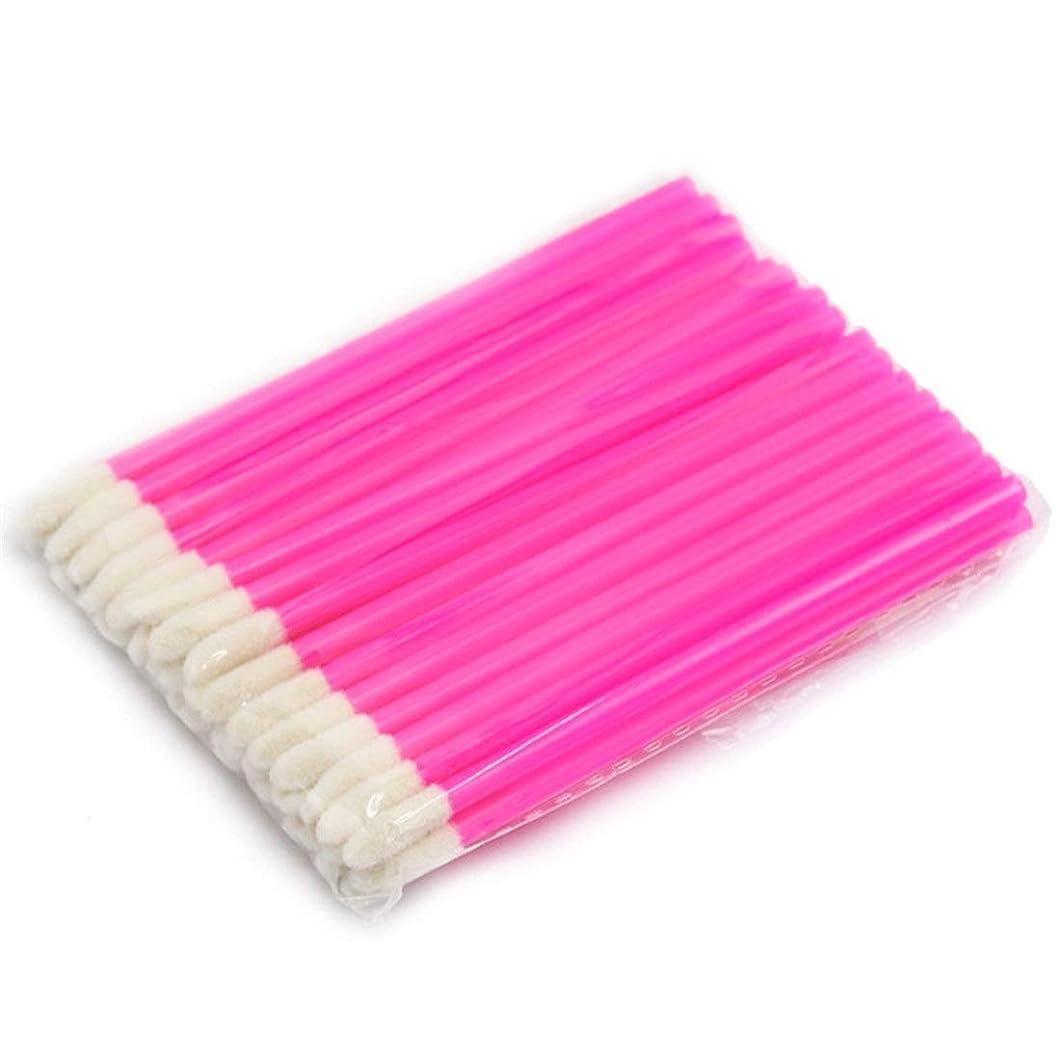 試してみるメタンランダムMakeup brushes 使い捨て化粧リップブラシ口紅光沢スティックアプリケーター化粧ツールファッションデザイン-ローズブッシュ suits (Color : Rose)