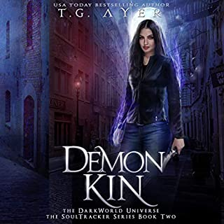 Demon Kin      DarkWorld: A SoulTracker Novel              Written by:                                                                                                                                 T. G. Ayer                               Narrated by:                                                                                                                                 Genevieve Lerner                      Length: 7 hrs and 16 mins     Not rated yet     Overall 0.0