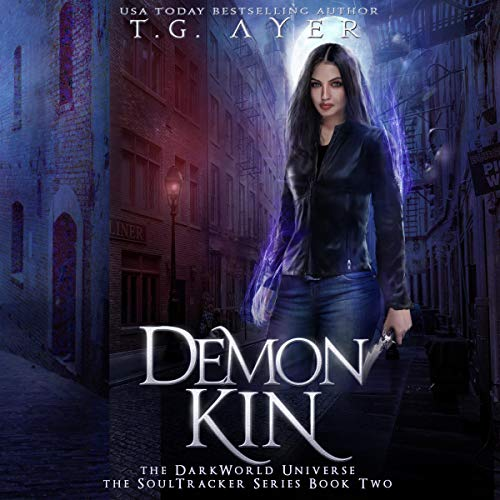 Demon Kin      DarkWorld: A SoulTracker Novel              By:                                                                                                                                 T. G. Ayer                               Narrated by:                                                                                                                                 Genevieve Lerner                      Length: 7 hrs and 16 mins     Not rated yet     Overall 0.0