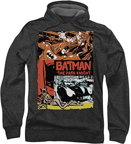 Batman - - Antiguo cartel de película Hombres sudadera con