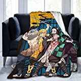 Japan Anime Soft Blanket Durable Cozy Bed Throws Blankets Fit Home Couch Sofa for All Season 80'x60'