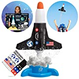 Discovery Kids Mindblown Model Rocket Launcher STEM Educational Science Experiment Kit for Kids