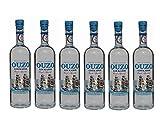 6x feiner Ouzo Loukatos je 700ml 38% Vol. aus Griechenland