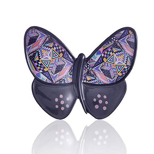 Multifunctionele nagellak voor sjaalkleding, exquise mode, grijs, vlinder, meisjes en dames, broches