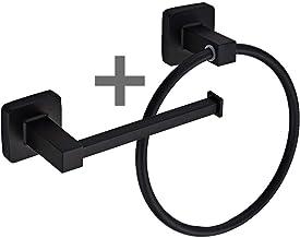HITECHLIFE Badkamer Hardware Accessoires Set Goud Geborsteld Badkamer Hardware Sets Moderne Handdoekring Robehaak Hanger T...